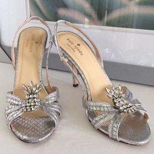 Kate Spade 'Hula' Pineapple Heels Size 7.5B